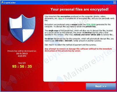Cryptolockers Screenshot